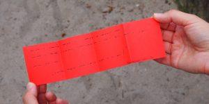 Schnitzeljagd-Rätsel als Morse Code