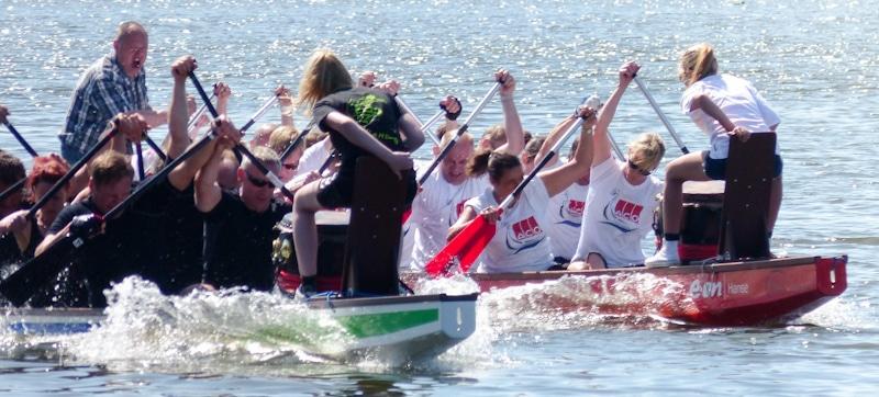 Teamevent Idee: Drachenboot-Rennen oder Floßfahrt