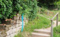 Schnitzeljagd-Strecke markieren