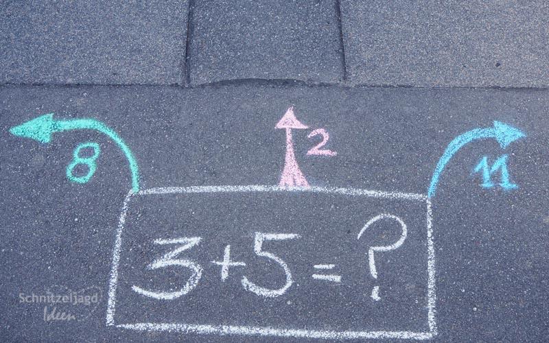 Rätsel für Kinder in der Schnitzeljagd