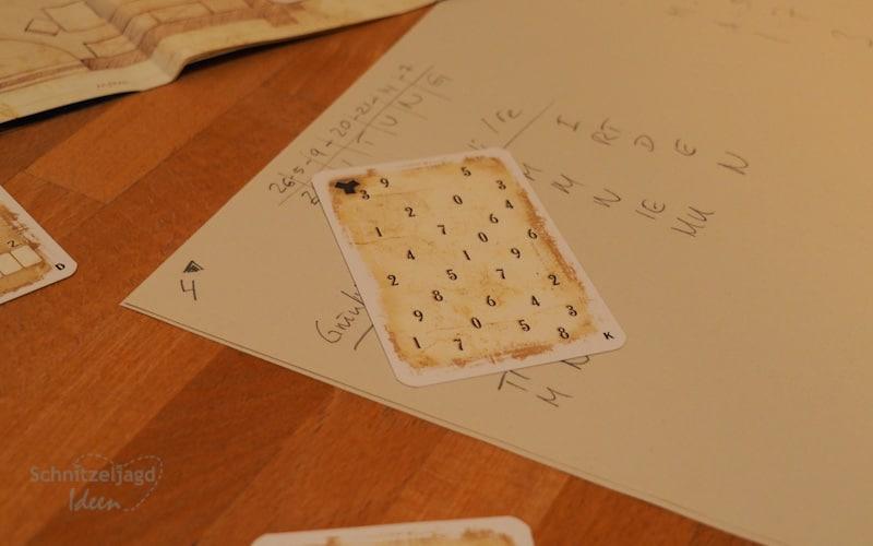 Zahlenrätsel im Escape Room für Zuhause im Test