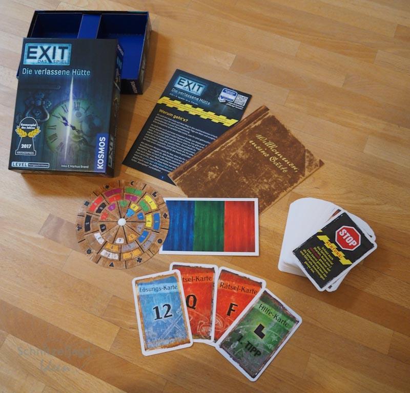 """EXIT: Das Spiel """"Die verlassene Hütte"""" im Test/Rezension"""