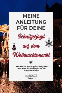 Schnitzeljagd Anleitung für den Weihnachtsmarkt