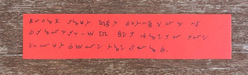 Eigenes Alphabet entwerfen: Eine kreative Idee für geheime Botschaften
