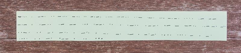 Leichte Geheimschrift für Kinder: Morsecode