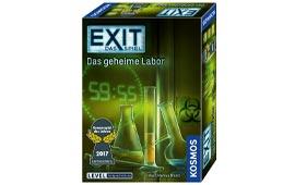 Das beste EXIT Spiel: Das geheime Labor