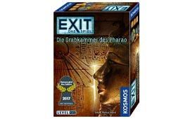 EXIT Spiel Die Grabkammer des Pharao in der Rangliste