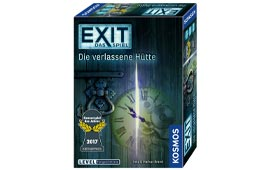 Eins der besten Kosmos EXIT Spiele: Die verlassene Hütte
