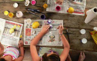 Kinder beschäftigen: Spiele für drinnen und draußen