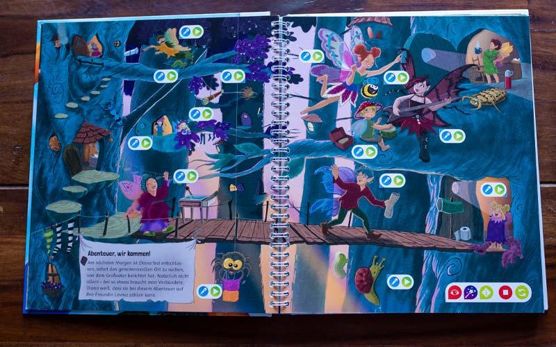 tiptoi Elfen brauchen Abenteuer Buch