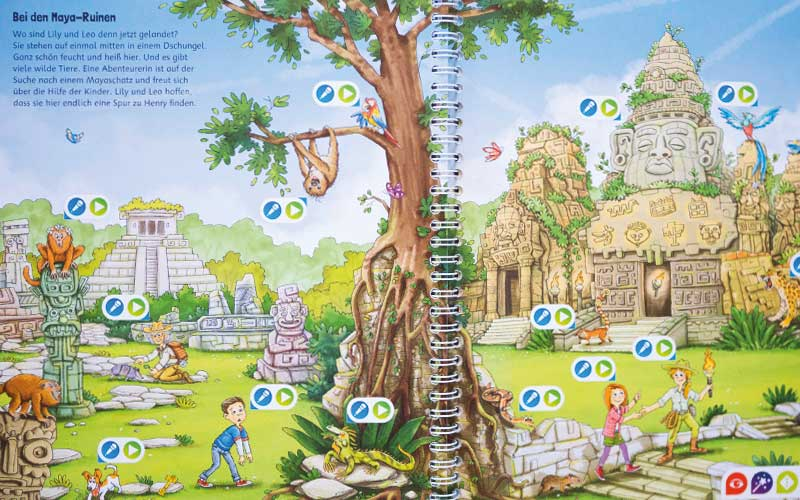 Weltreise Schatzsuche in den Ruinen der Maya