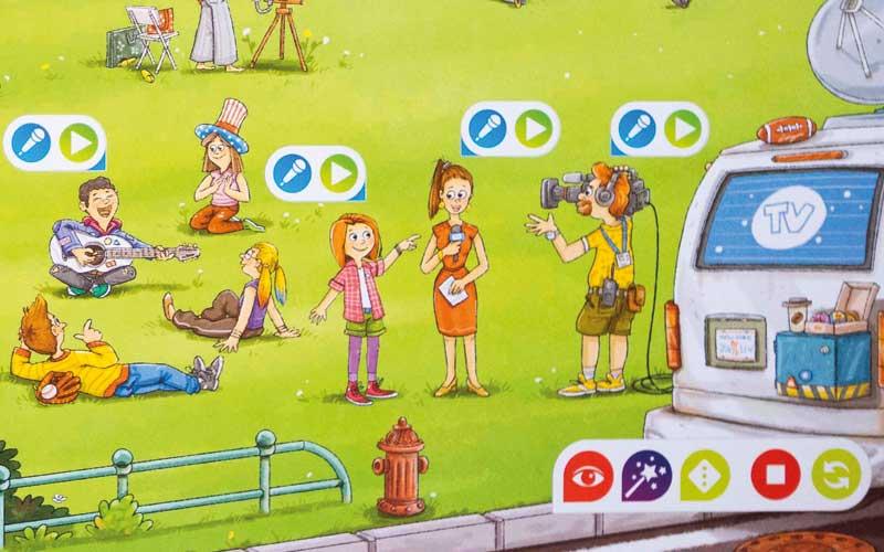 Fertige Schatzsuche für Kinder als Lernspiel