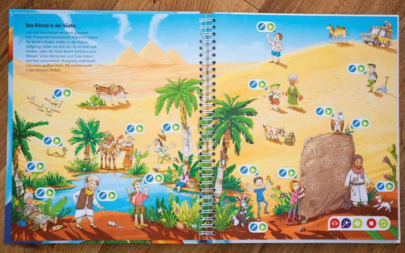 tiptoi Schatzsuche: Schlange in der Wüste