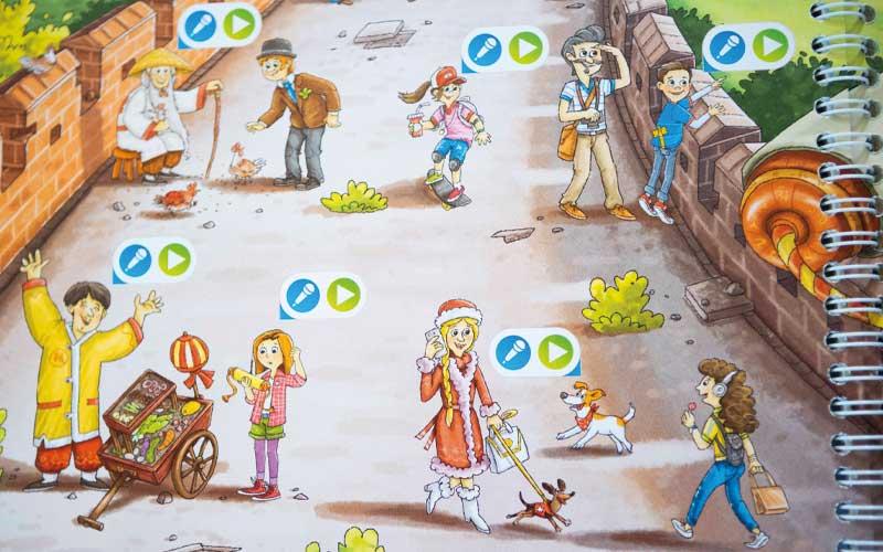 Weltreise Lernspiel für Kinder: Die tiptoi Schatzsuche