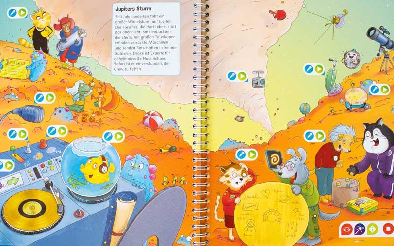 Tiptoi Buch die galaktische Weltraum-Mission
