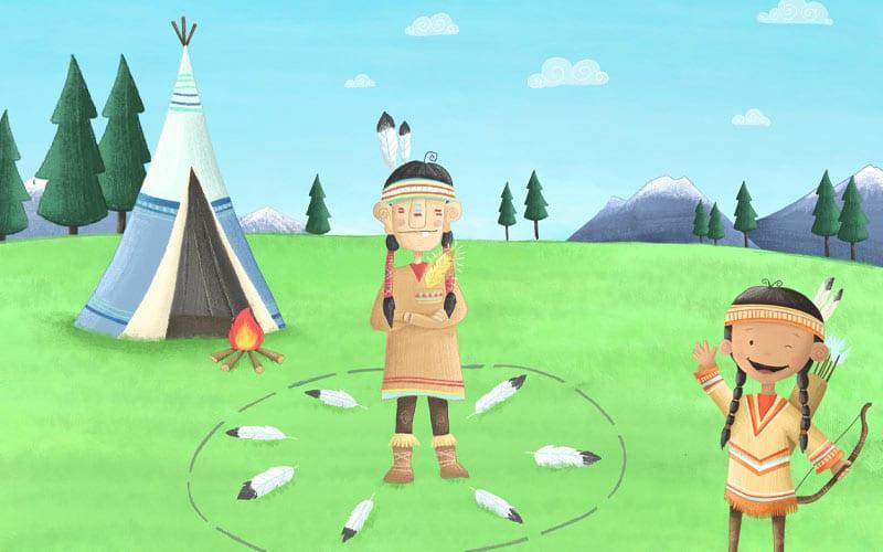 Bewegungsspiel für Kindergarten & Schule: Schnitzeljagd & Schatzsuche
