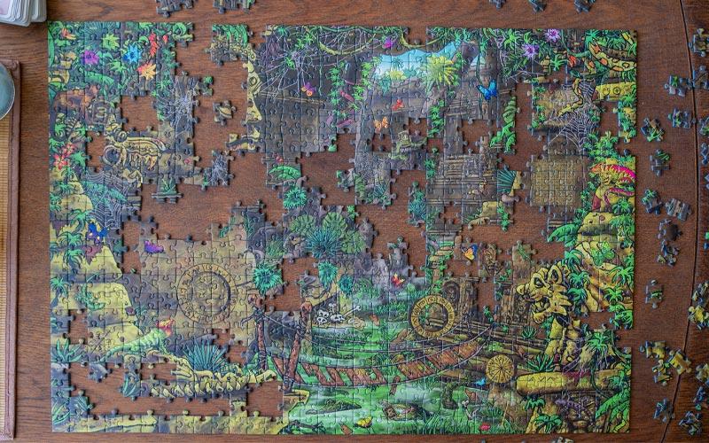 Exit Puzzle Tempelanlage Rezension