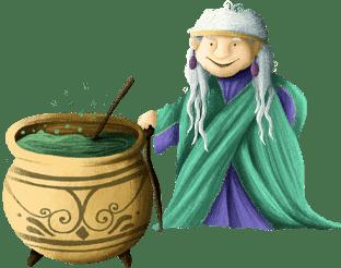Heilerin Lilo aus der Prinzessin-Schnitzeljagd