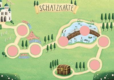 Prinzessin_Schnitzeljagd_fertige_Schatzkarte