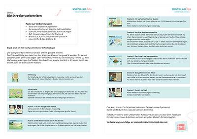 Anleitung & Vorbereitung für die Prinzessinnen Schnitzeljagd