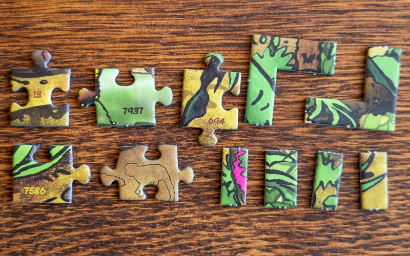 Exit Puzzle von Ravensburger: Eckige Teile nicht Teil der Lösung