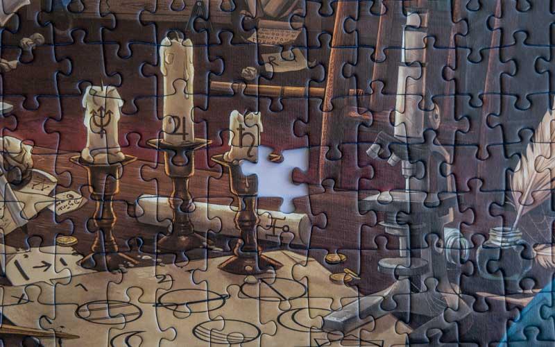 Ravensburger Exit Puzzle Sternwarte fehlendes Teil