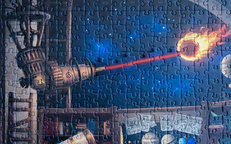 Ravensburger Exit Puzzle Sternwarte finale Lösung