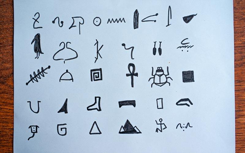 Hieroglyphen-Schnitzeljagd: Schönes Spiel für Coronazeiten
