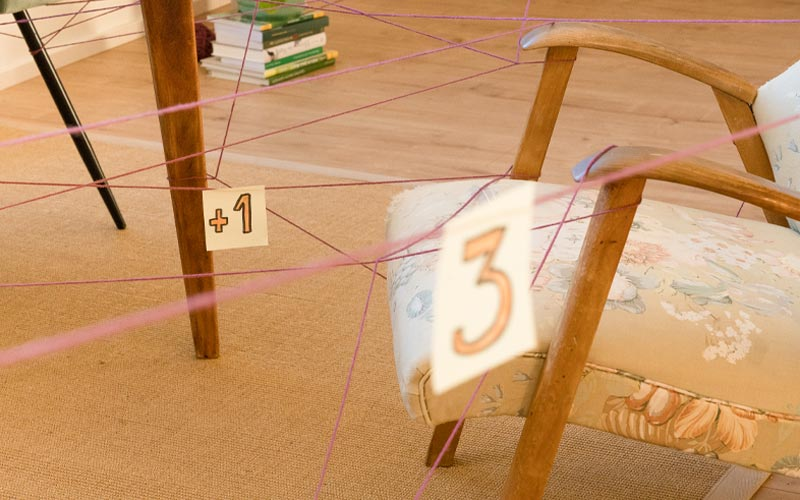 Kreatives Spiel zum Rechnen lernen & Lesen lernen
