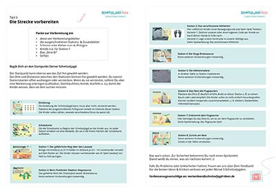 Anleitung & Vorbereitung einer Dino-Schnitzeljagd