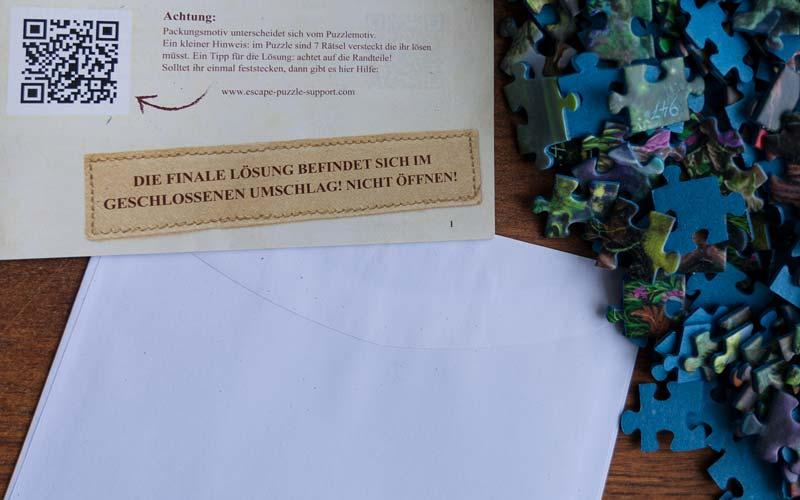 Einhorn Exit Puzzle: Finale Lösung