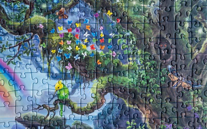 Exit Puzzle Einhorn Rätsel