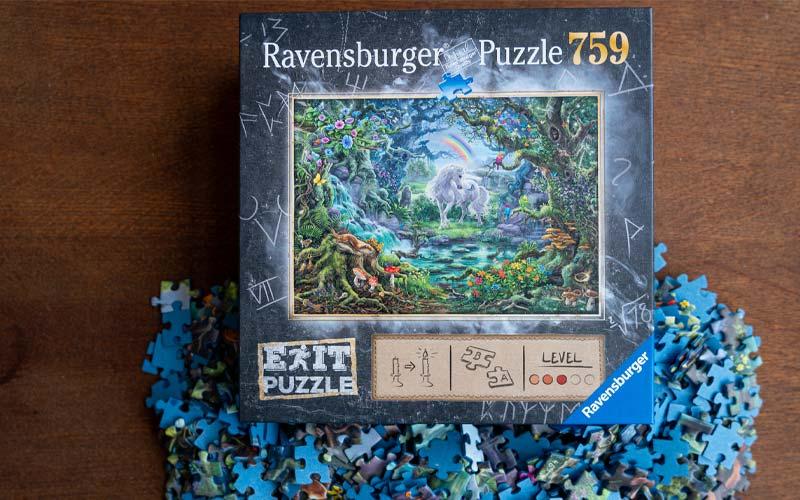 Ravensburger Exit Puzzle Einhorn Testbericht