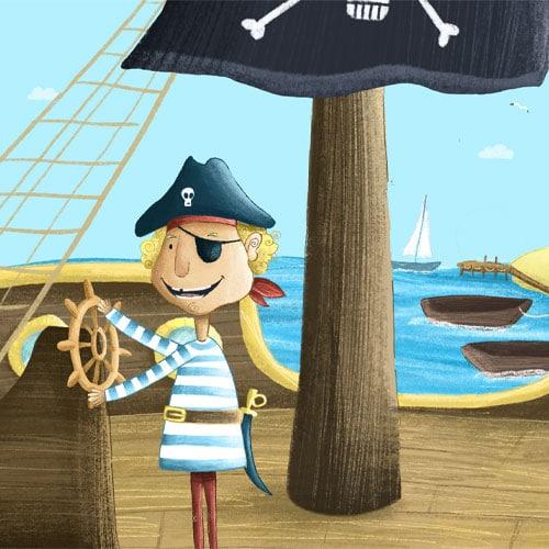 Pirat Fiete aus der Piraten Schatzsuche