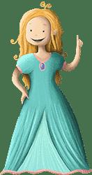 Prinzessin Florina aus der Prinzessin-Schatzsuche