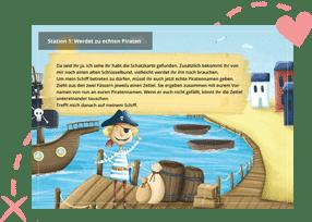 Piraten-Schatzsuche am Kindergeburtstag