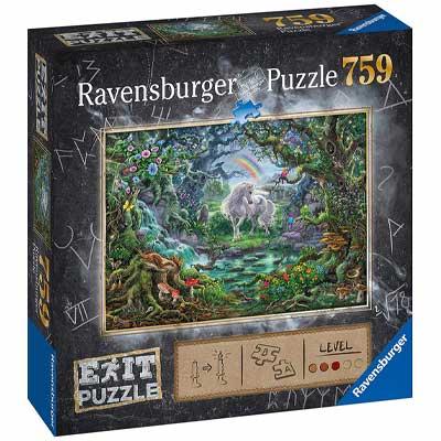 Ravensburger Exit Puzzle: Einhorn im Vergleich