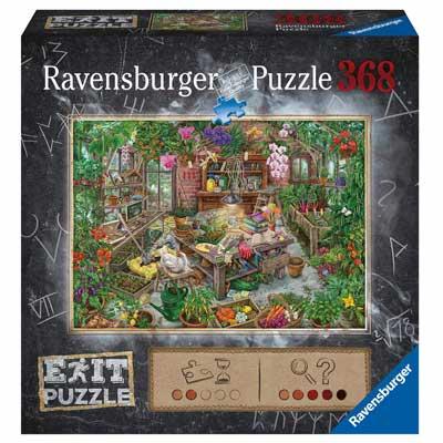Ravensburger Exit Puzzle Gewächshaus