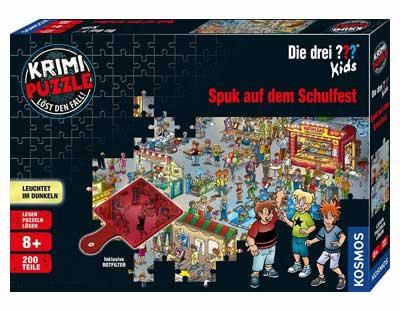 Exit Puzzle Kids: Die drei ??? Spuk auf dem Schulfest