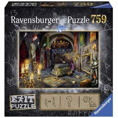 Ravensburger Exit Puzzle: Vampirschloss im Vergleich