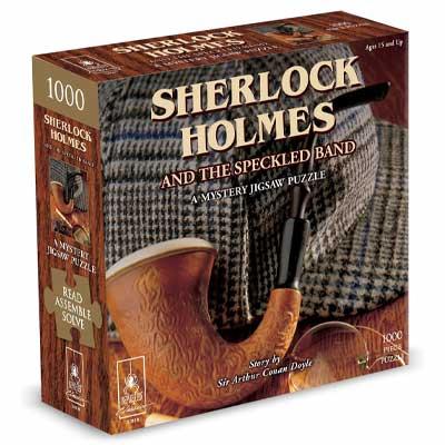 Sherlock Holmes Krimi-Puzzle