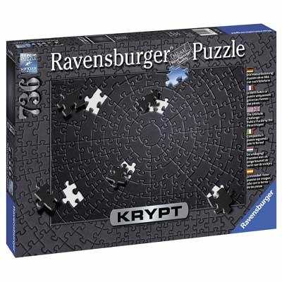 Ravensburger Krypt Puzzle Black