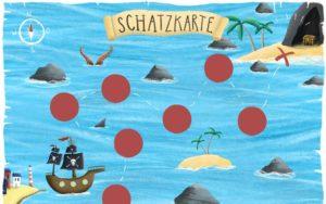 Schatzkarte malen: Vorlagen für Schatzkarten