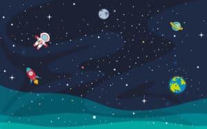 Weltraum-Party: Wie eine Weltall-Party am Kindertgeburtstag gelingt