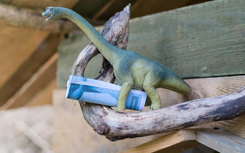 Dino-Schatzsuche am Kindergeburtstag