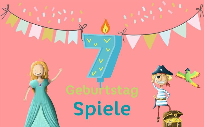 Kindergeburtstag Spiele 7 Jahre: Geburtstagsspiele für den 7. Geburtstag