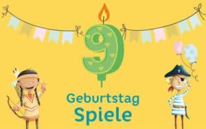 Kindergeburtstag Spiele 9 Jahre: Geburtstagsspiele für den 9. Geburtstag